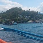 ボートから見たサバンビーチ